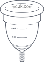 illustration of an mcuk menstrual cup